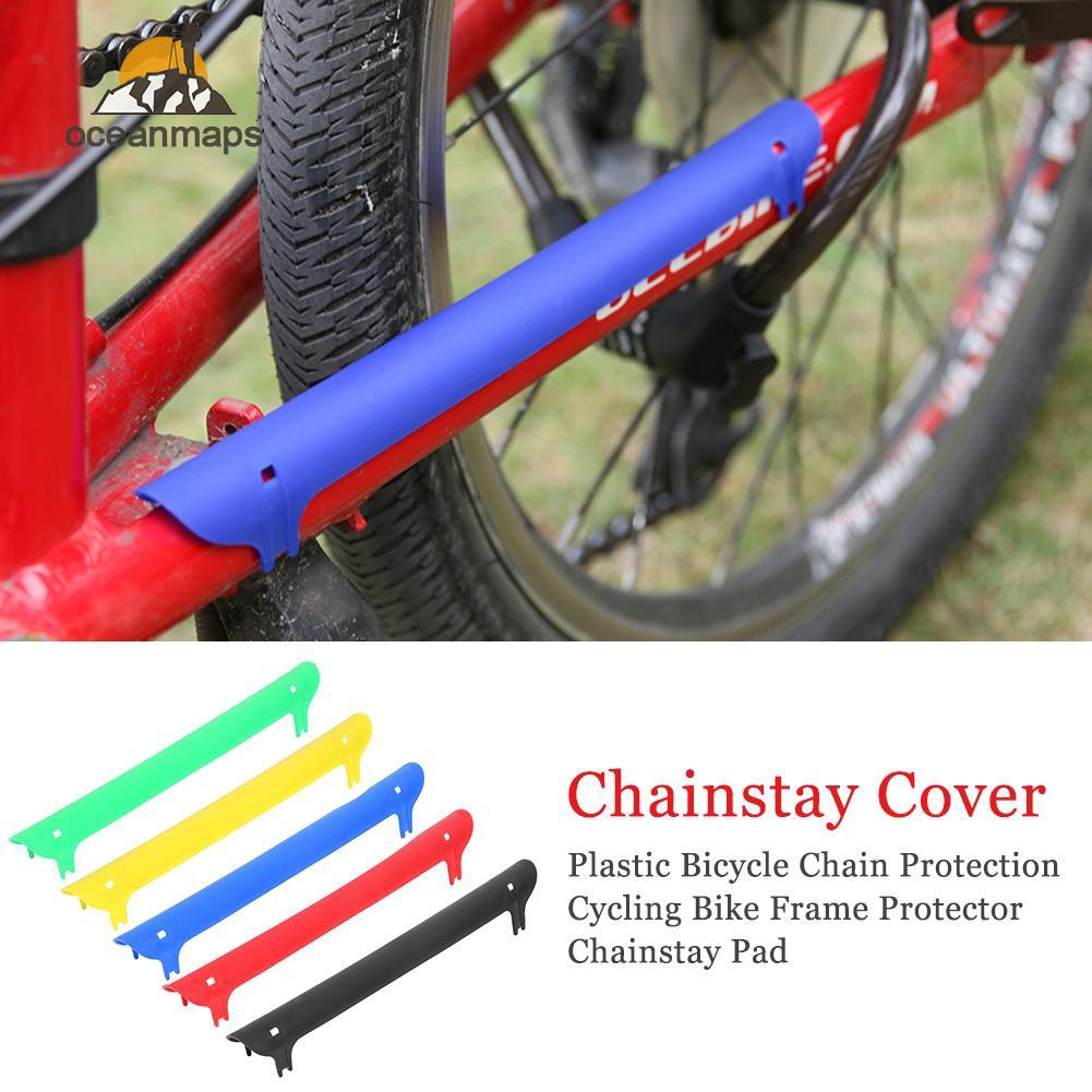 Bicycle Mountain Bike Frame Chain Protector Protect Mat Guard Pad Cycling 1PC