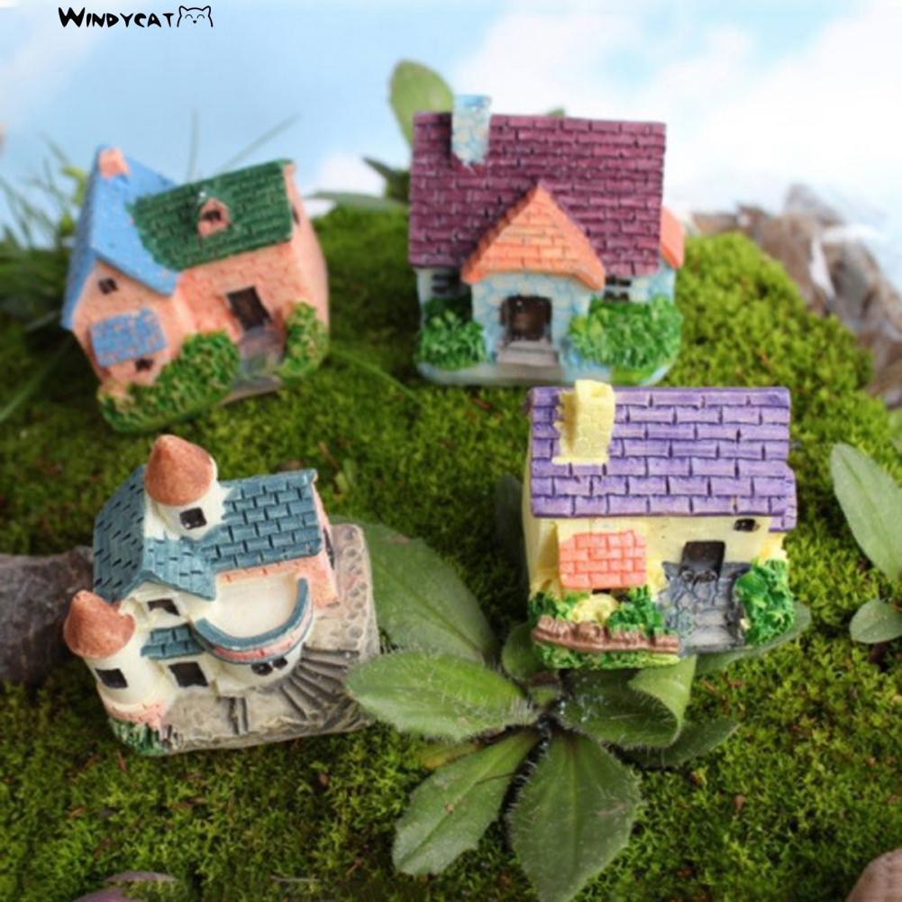 13 X  Colourful Toadstools Fairy Garden Micro Dolls Hose Landscape Ornament LOOK