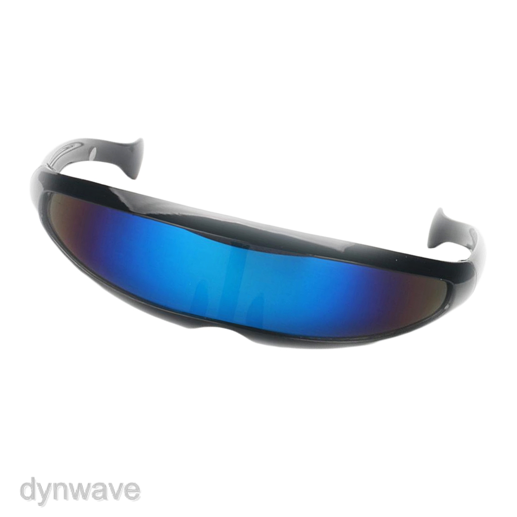 Pack of 2 Adults Kids Novelty Futuristic  Mirrored Sunglasses Glasses