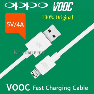 100% Original OPPO AK779 Micro 5V-4A VOOC Super Charging