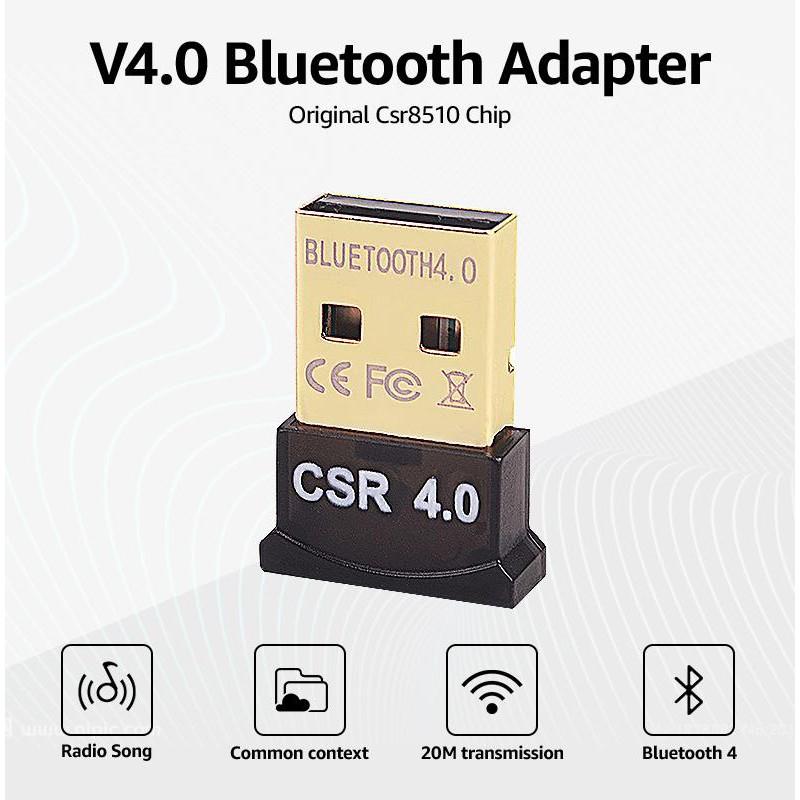 USB CSR 4.0 Bluetooth Adapter V4.0 Bluetooth Dongle Mini ...