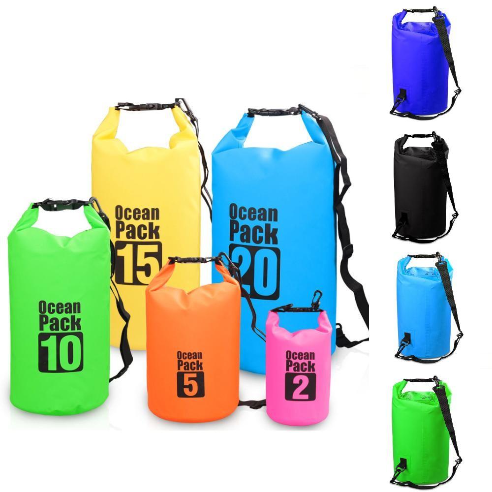42a3d30ae5 bucket PVC folder outdoor drift bag No brand swimming 1 pc
