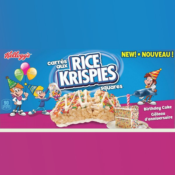 Peachy Kelloggs Rice Krispies Birthday Cake 22G Shopee Philippines Funny Birthday Cards Online Sheoxdamsfinfo