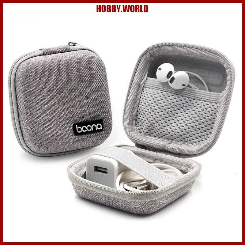 Portable EVA Carrying Hard Case Bag Travel Storage Box For Headphone Headset
