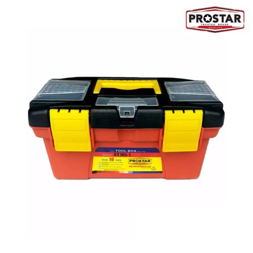 Prostar 10 Small Durable Plastic Tool Box With Inner Tray Shopee Philippines