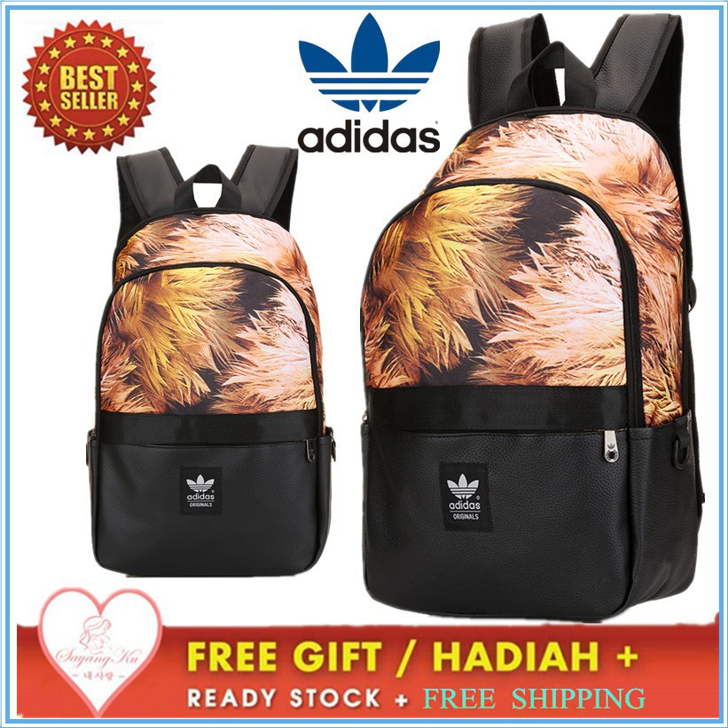 0634ae8706 Ready Stock Original Adidas Laptop School Backpack Bag
