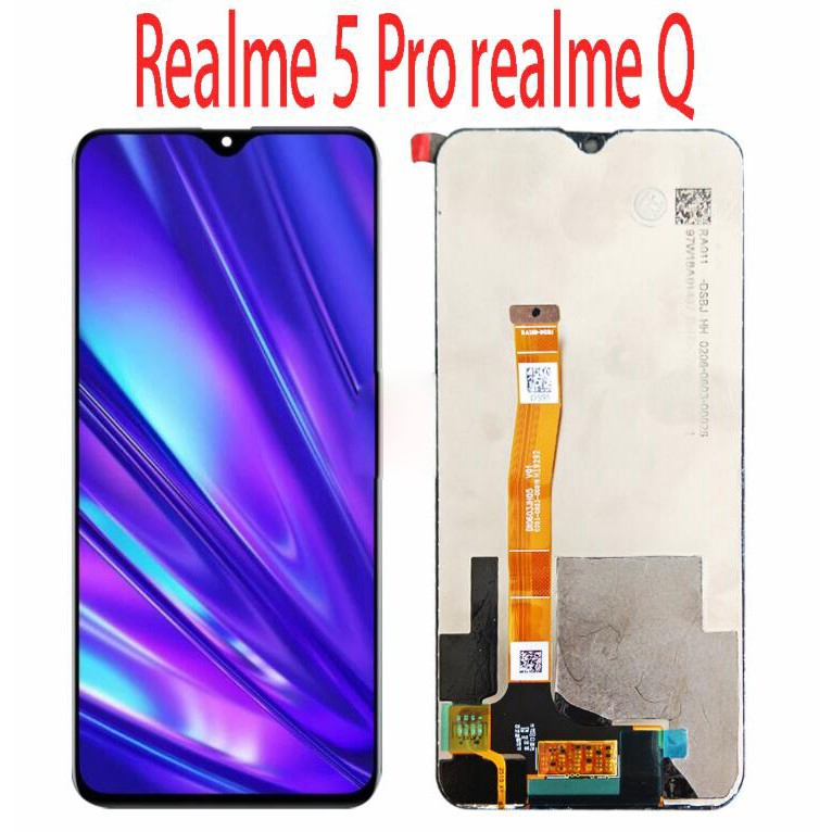 For Oppo Realme 5 Pro Rmx1971 Lcd Realme Q Screen Touch Display Digitizer Repair Fullset Shopee Philippines