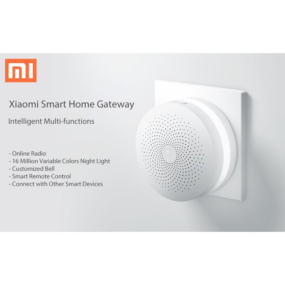 Original Xiaomi Smart Home Kit Gateway Door Window Sensor Shopee White Philippines