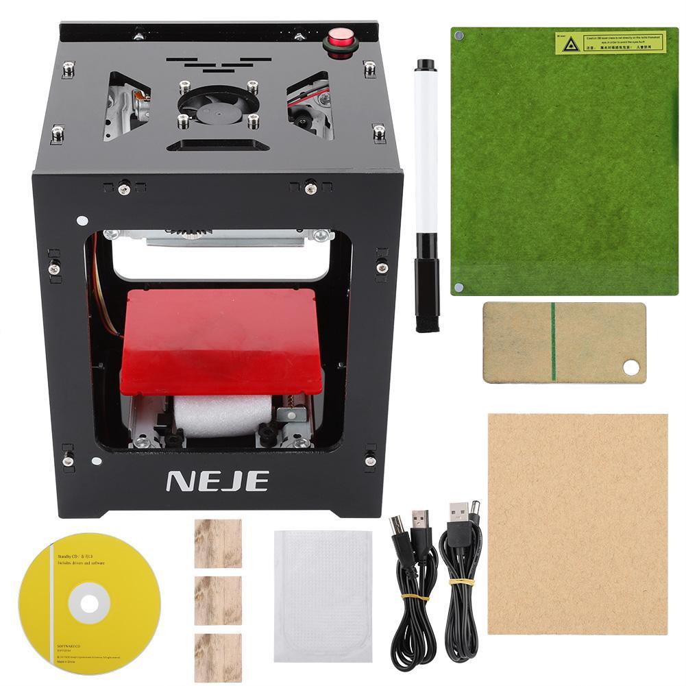 NEJE DK-8-KZ 2000mW Micro Laser Engraving Cutting Machine Laser Marking  Machine