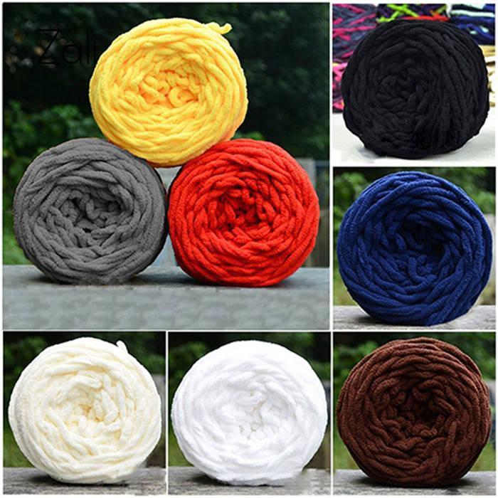 ad912ab70 1Pc Crochet Hand Knitting Yarn Baby Yarn Wool Thick Yarn Fo