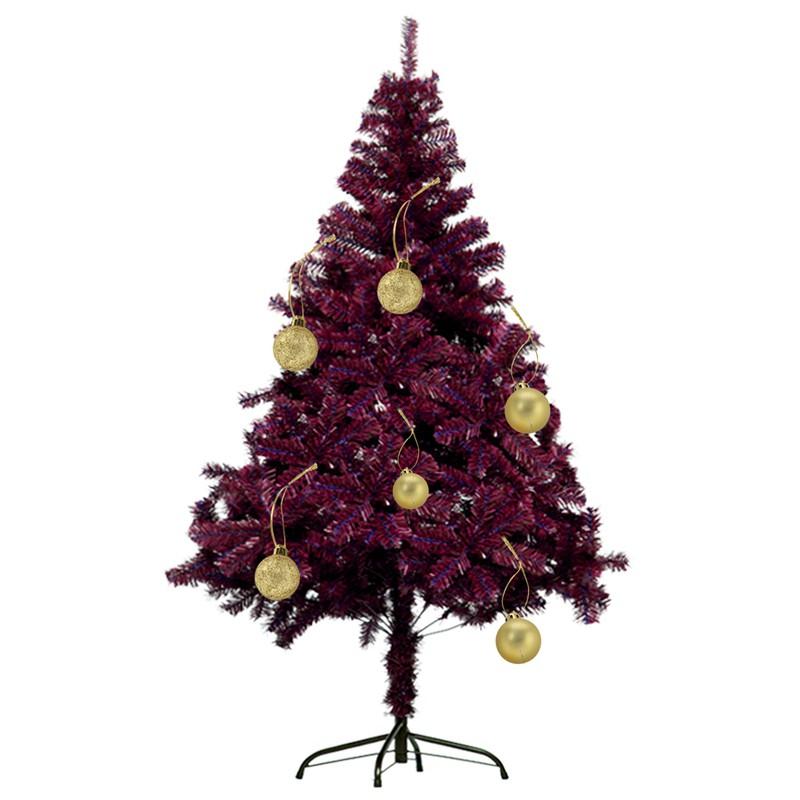 6 x Gold Swan Baubles Suspendu Décorations Style Vintage Christmas Tree Baubles