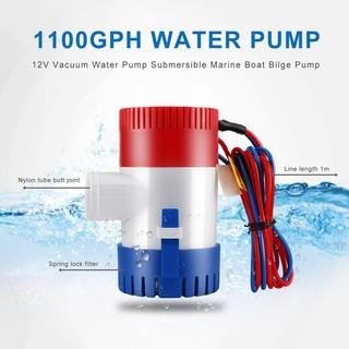 1100GPH 12V Boat Marine Automatic Submersible Bilge Auto