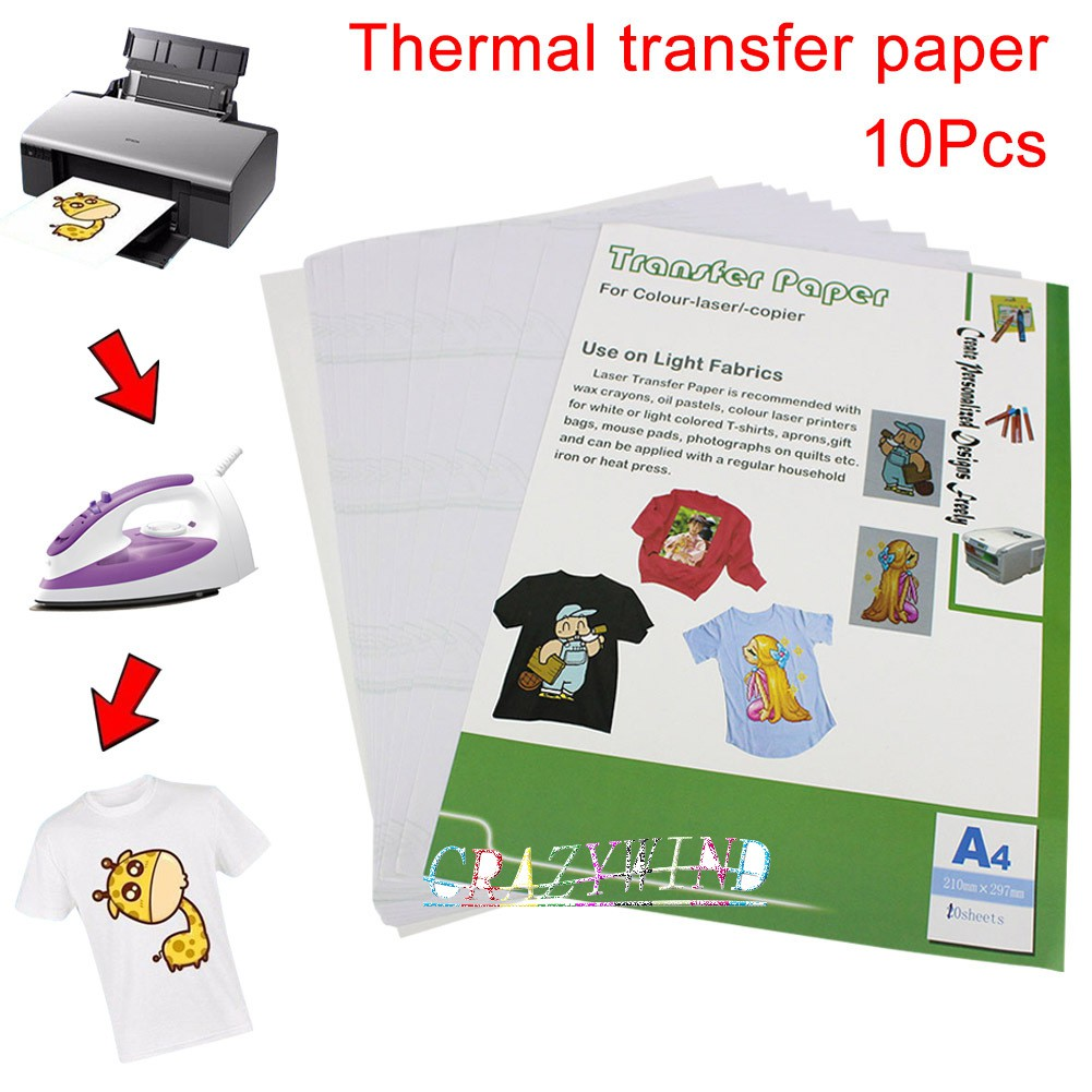 9f3cfd9c New A4 Clothing DIY Cloth Heat Transfer Paper | Shopee Philippines