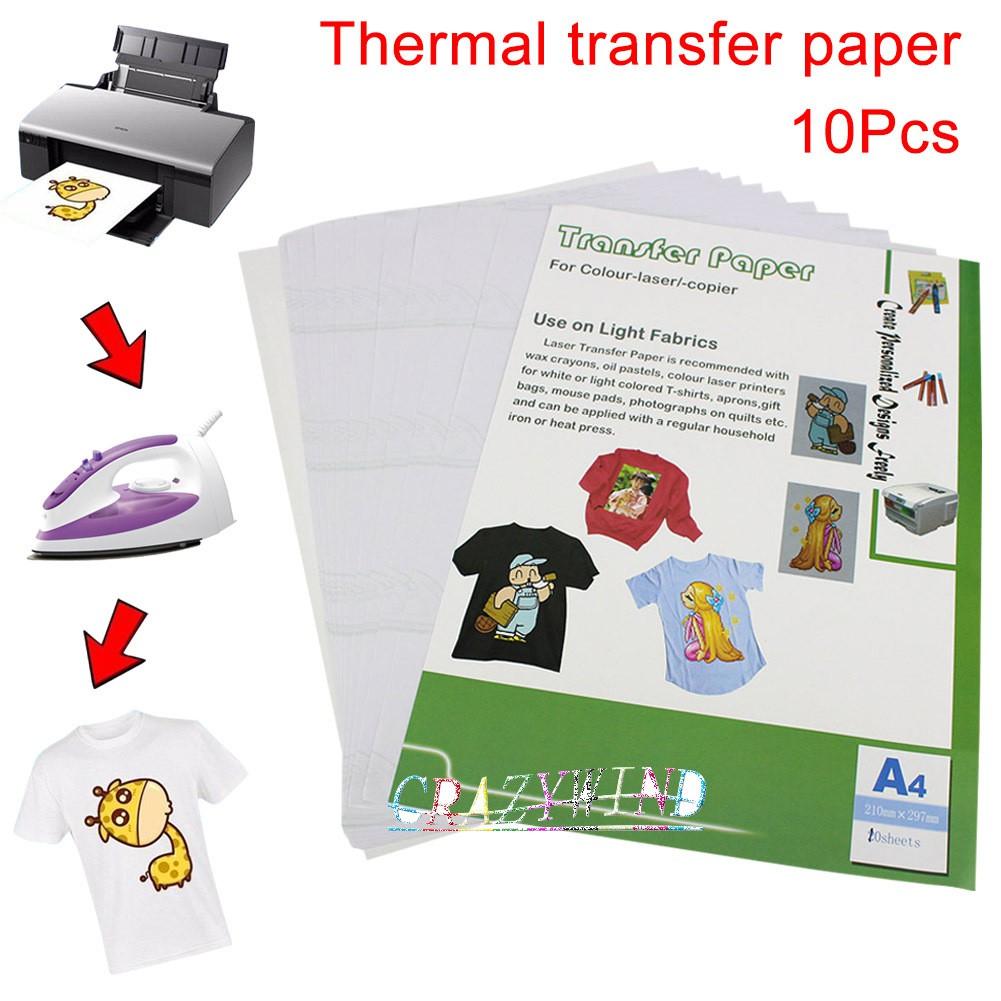 b5c5ca4fc New A4 Clothing DIY Cloth Heat Transfer Paper | Shopee Philippines