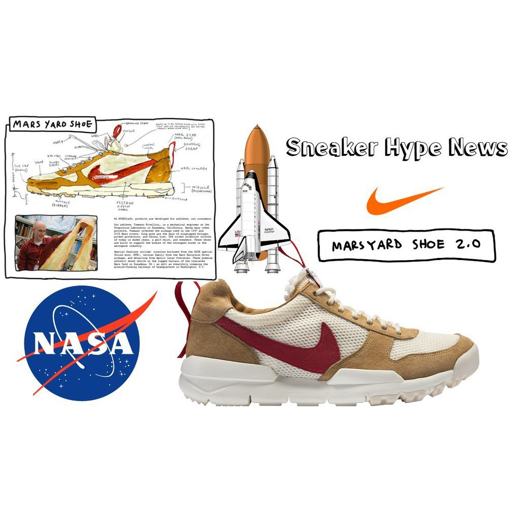 99e3d1d2f7b227 Nike Craft x Tom Sachs Mars Sneakers 2.0