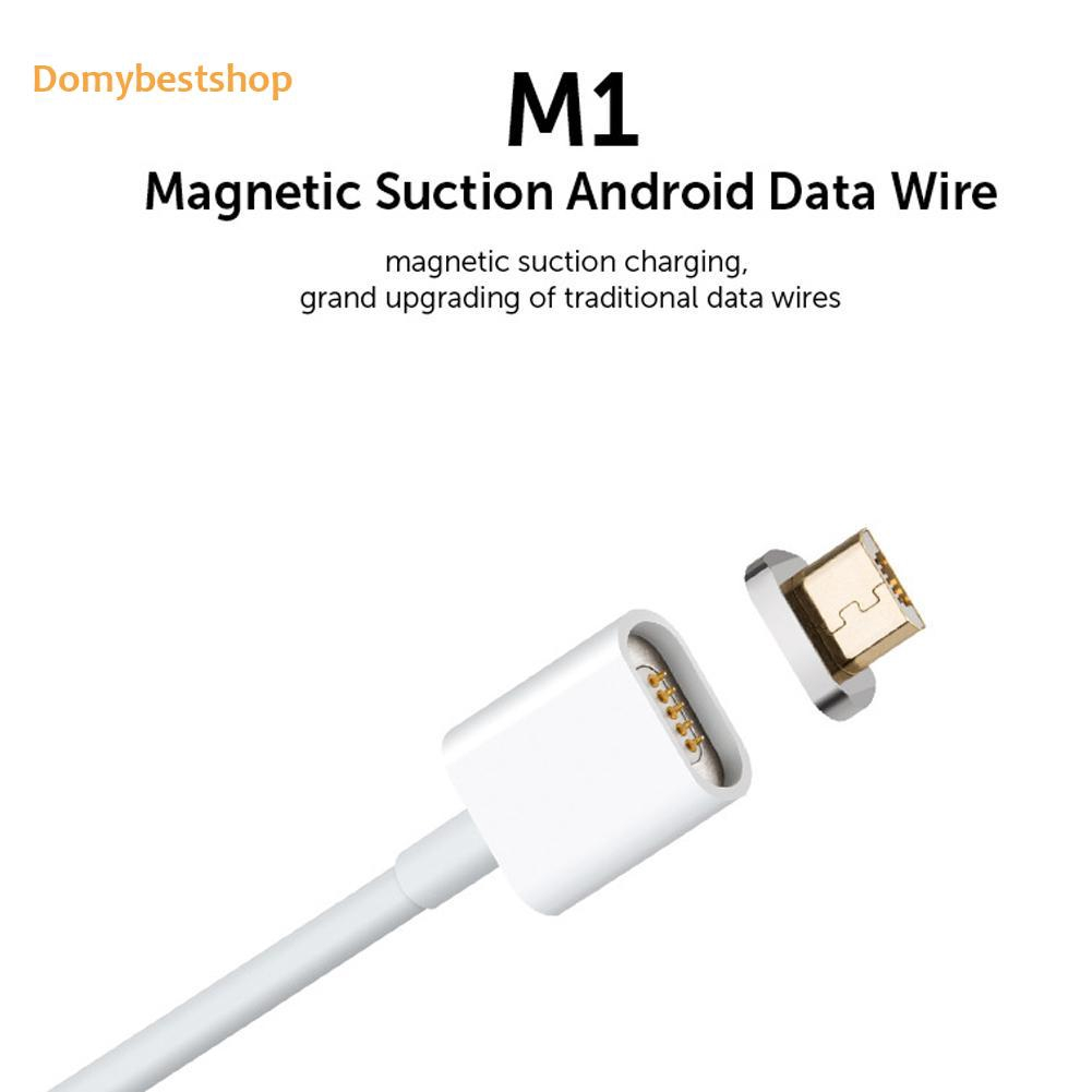 Moizon Magnetic Micro Usb Plug Charger Adapter Charge Cable For Android Shopee Philippines