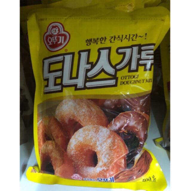 Korean ottogi doughnut mix 500g   Shopee Philippines