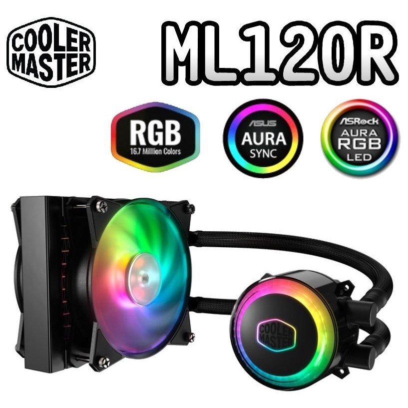 Cooler Master Masterliquid ML120R aRGB Liquid CPU Cooler