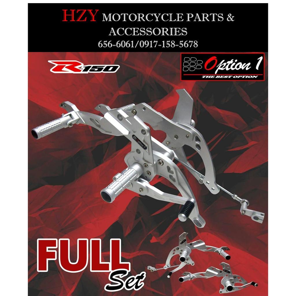 option 1 full set shifter v5 SUZUKI RAIDER 150