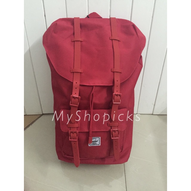 14c4370e877 Authentic Anello Rucksack Classic Backpack Bag Wine Large | Shopee  Philippines