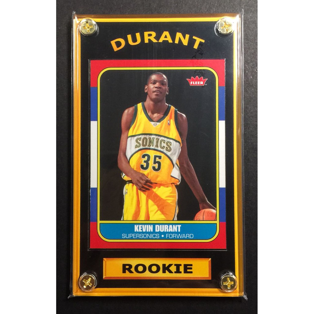 best sneakers 8156e 694c0 Kevin Durant Rookie Sports Card - NBA Finals MVP