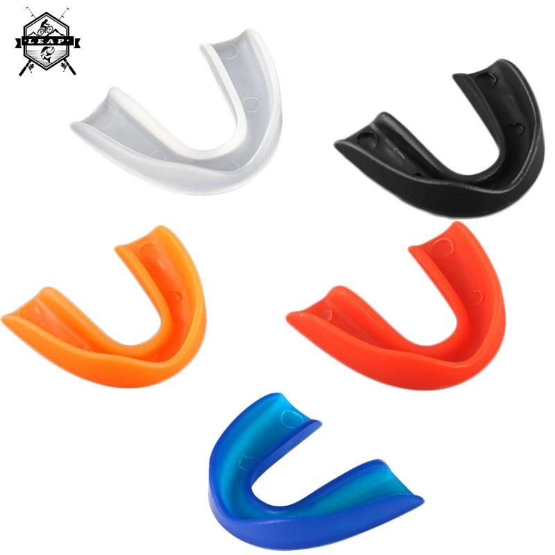 Silicone Mouth Guard Set Teeth Protector Sports Mouthguard Gum shield for Boxing