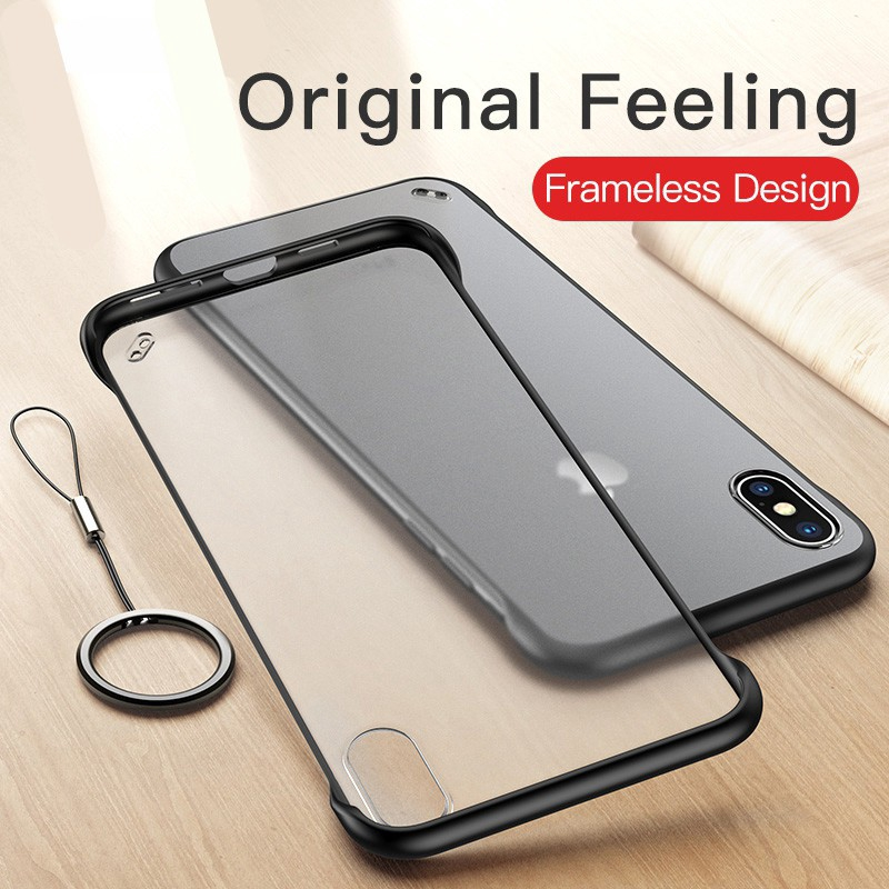 XIYU IPhone Transparent Matte Cover 6 7
