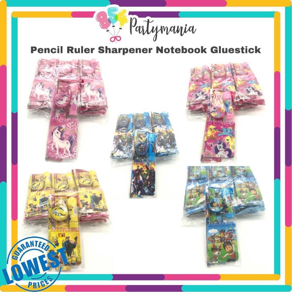 Lootbag fillers: Schoolkit 12set/pck school supply