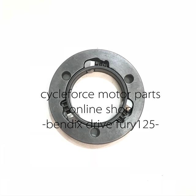 motor bendix drive/stater plate fury 125