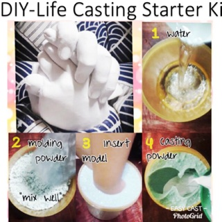 LIFE CASTING (Easy Cast Small Kit) with container