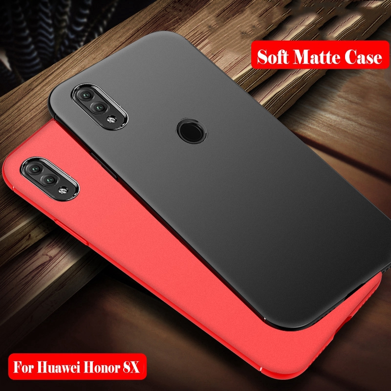 best authentic 1c610 fc1f3 Huawei Honor 8C 8X Max Case Silicone Matte TPU Back Cover