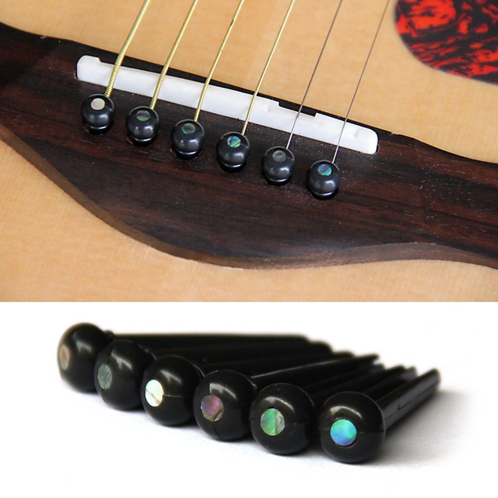Novelty DIY Saddle Nut+Bridge Endpins+Nail Puller Set For Acoustic Guitar