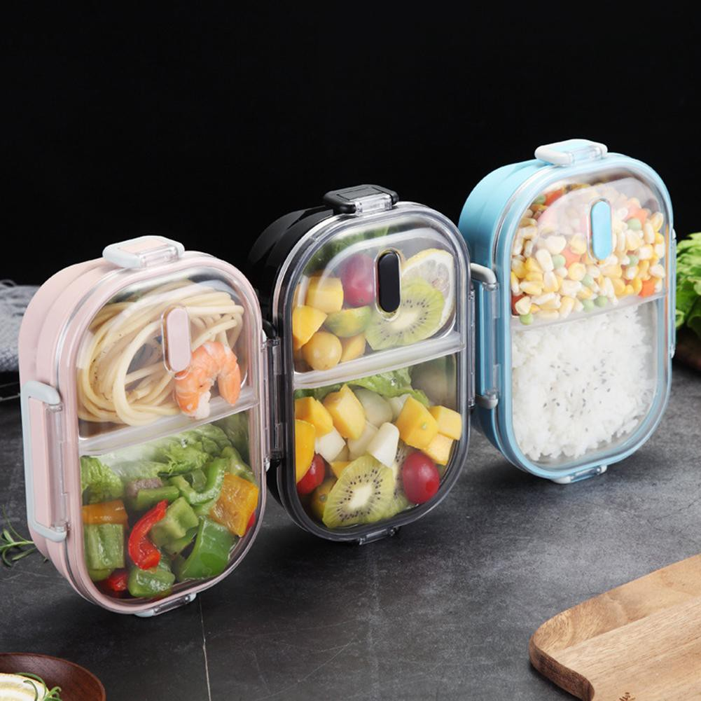 Children  Stainless Steel Lunch Box Picnic Office Bento School Food Container q
