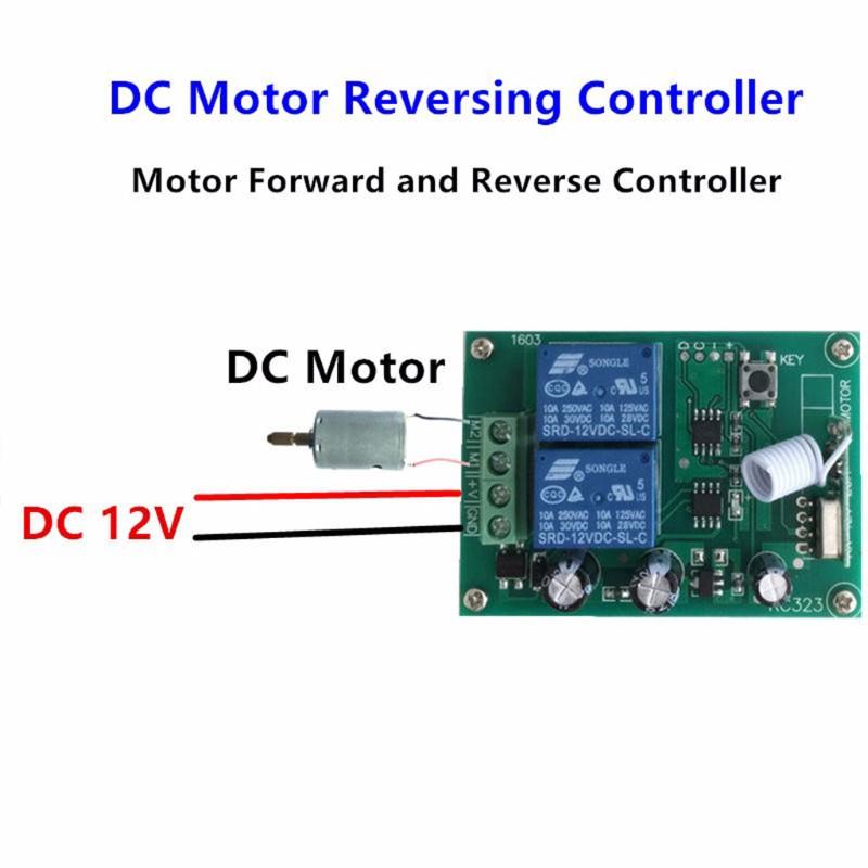 2CH 12V 433MHz Wireless RF Remote Control Relay Code Switch Transmitter Recei B4