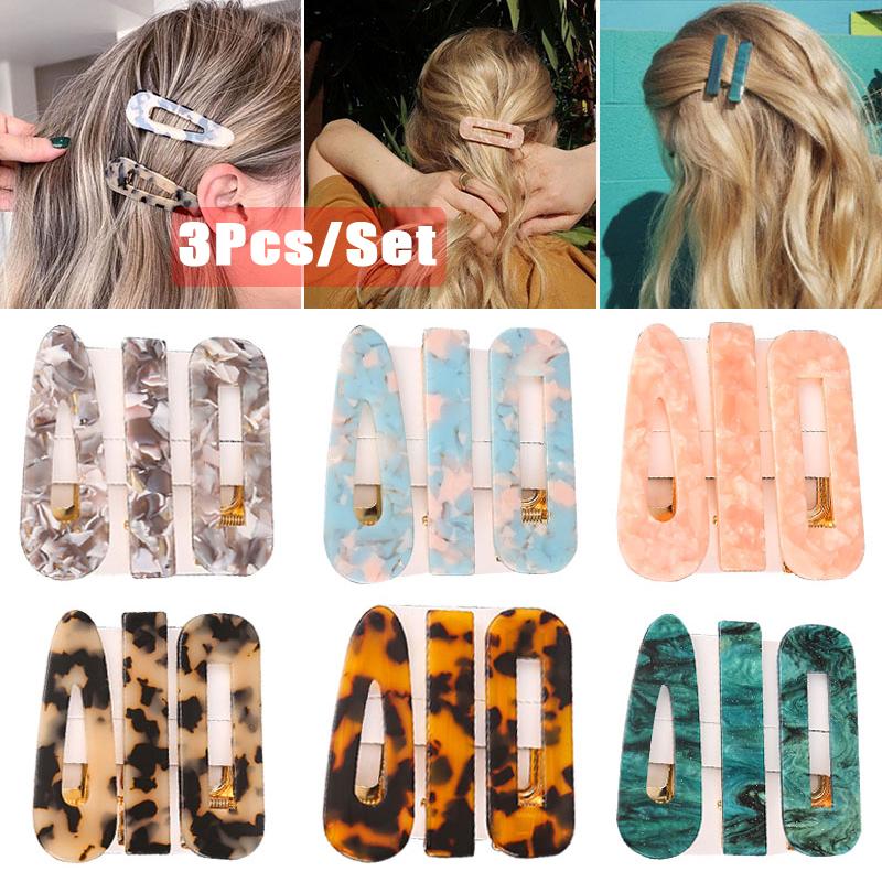 Details about  /1 pcs Hairpin Leopard print imitation acetate hair clip for Women Girls Hair