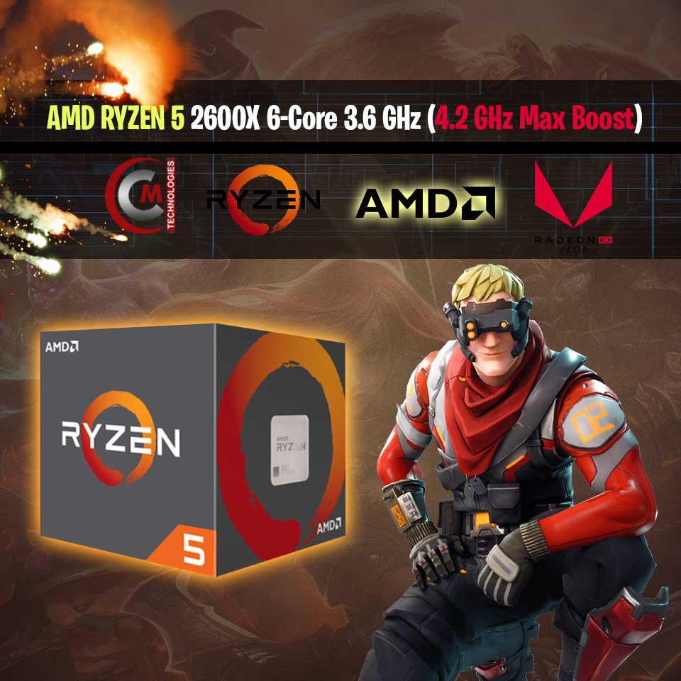Processor AMD AM4 Socket Ryzen 5 2600x