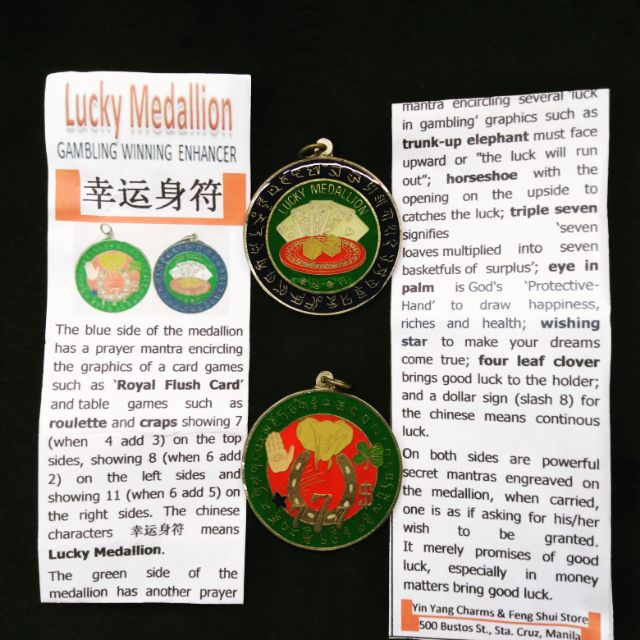 Feng Shui lucky medallion