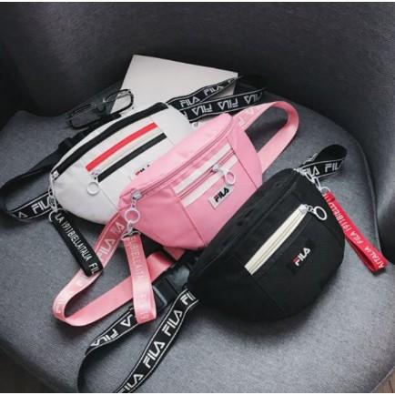 9f60594f46 COD Fila crossbody bag belt Waist bag sling bag | Shopee Philippines