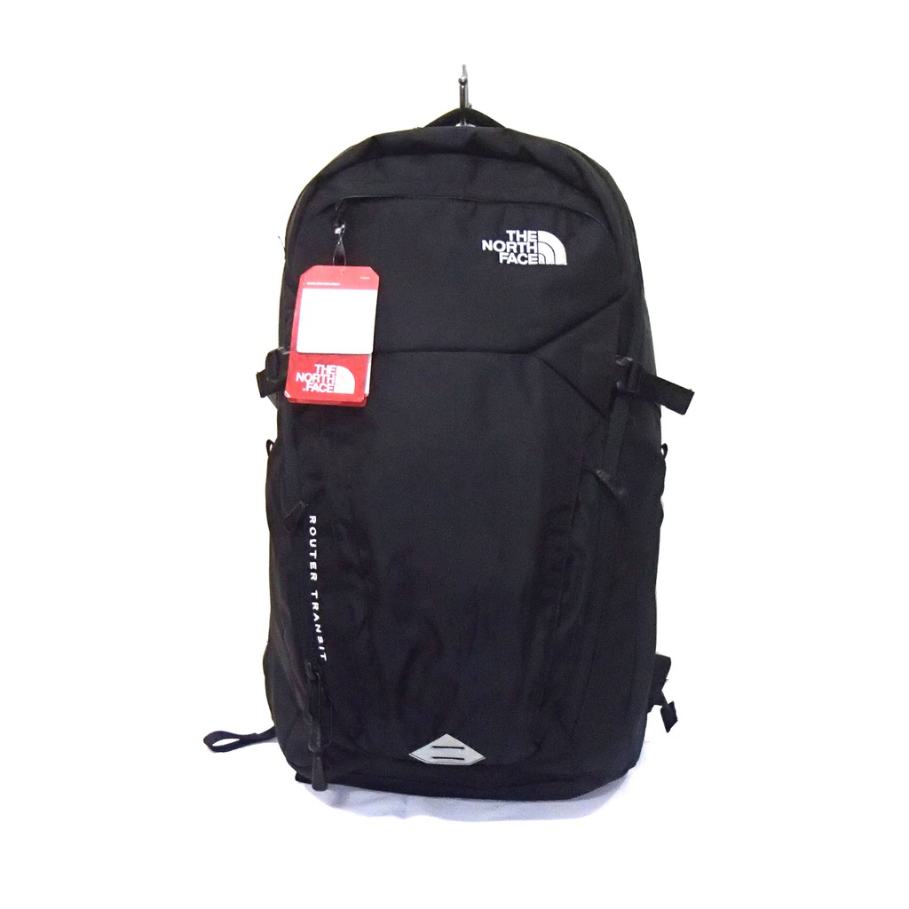 edee0f123 Flat Black The North Face Router Transit