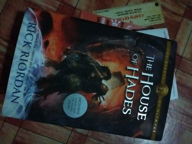 HARDCOVER] The House of Hades by Rick Riordan   Shopee