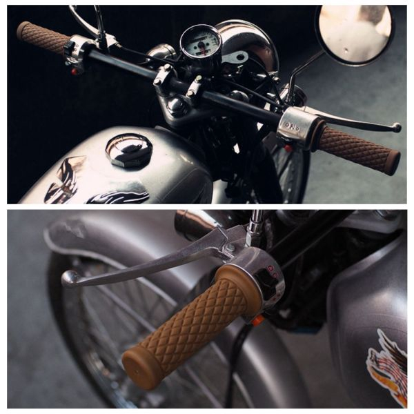 "1 Pair 7//8/"" 1/"" Motorcycle Bar Ends Handle Grip Plug for Honda CBR1000RR 2013 12"