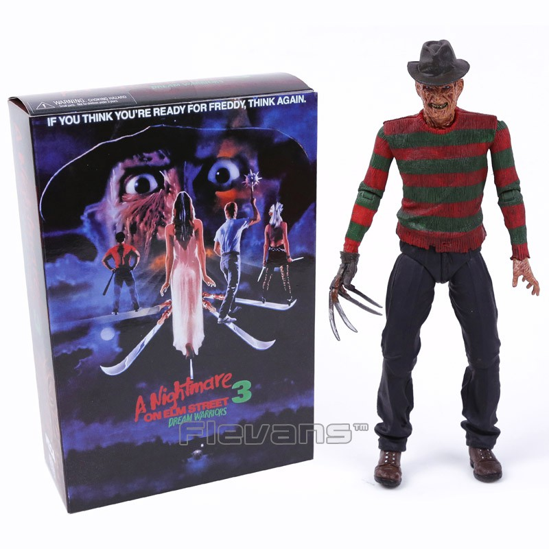 "Nightmare on Elm Street Ultimate Freddy Dream Warriors 7/"" Action Figure NECA"