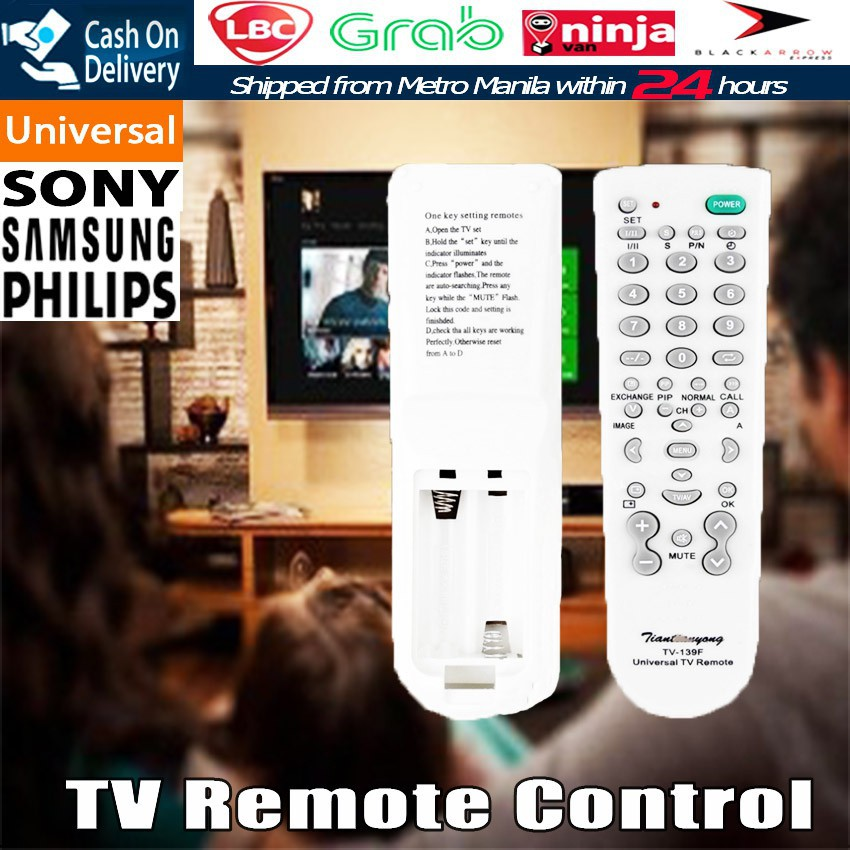 Universal Smart Remote Control TV DVD SAT Controller Replace
