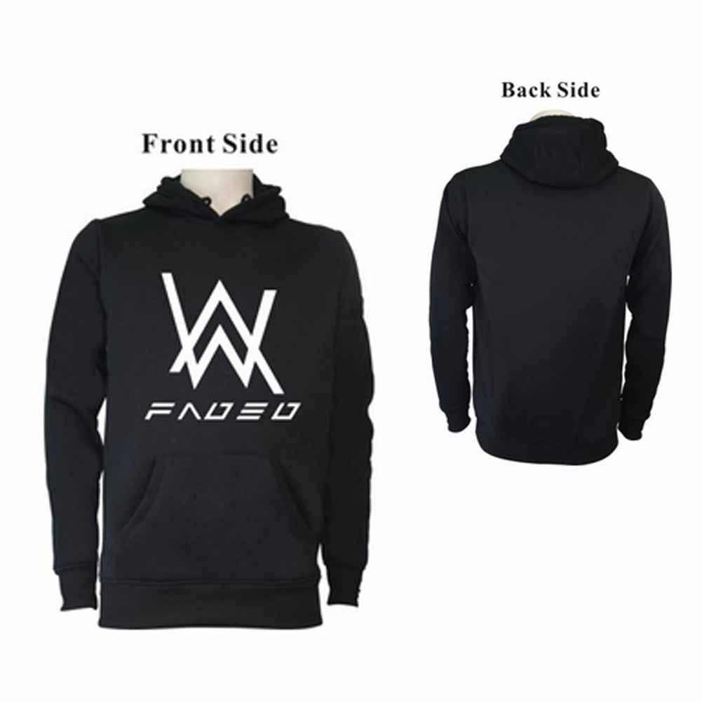 4e22362f3d649 Alan Walker DJ Sweater Coat Faded Hoodie promotion! | Shopee Philippines
