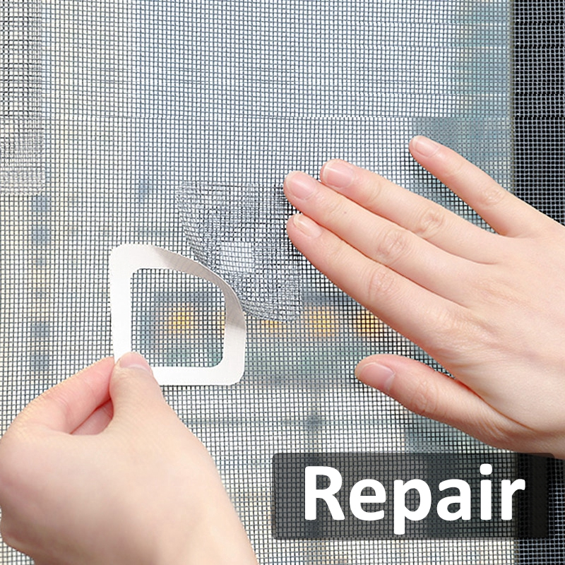 3 Sheets Window Screening Repair Pads Self Adhesive Window Screen Repair Patch Fix Broken Net Window Anti Mosquito Fly Bug Insect Home Improvement Tools Shopee Philippines
