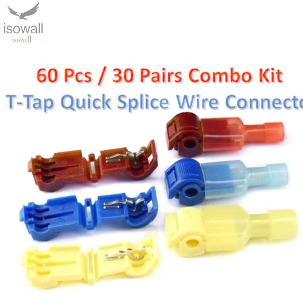 FEMALE COMBO 200 PACK 16-14 AWG NYLON FULLY INSULATED QUICK DISCONNECTS MALE