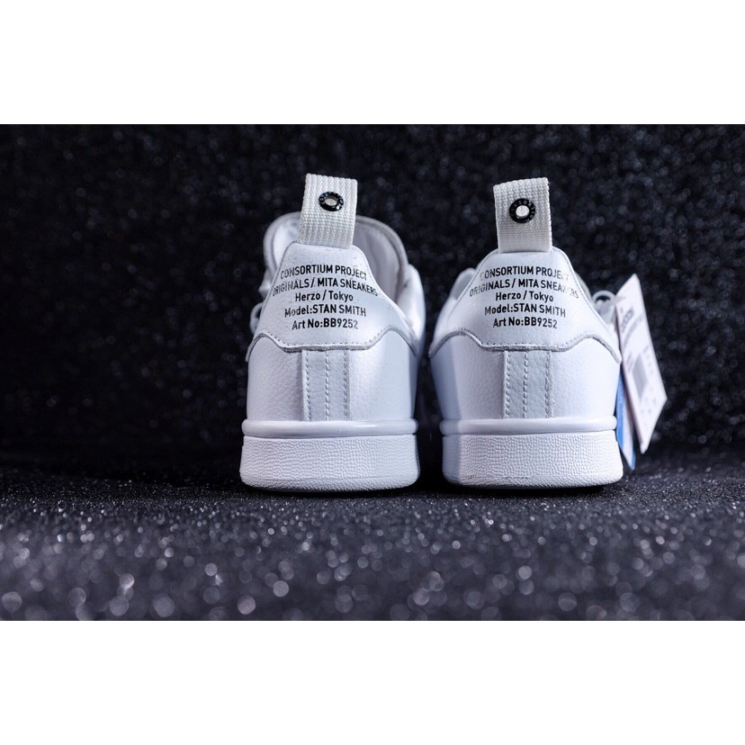 online retailer official supplier factory outlets Mita x Adidas Consortium Stan Smith sport Casual shoes | Shopee ...