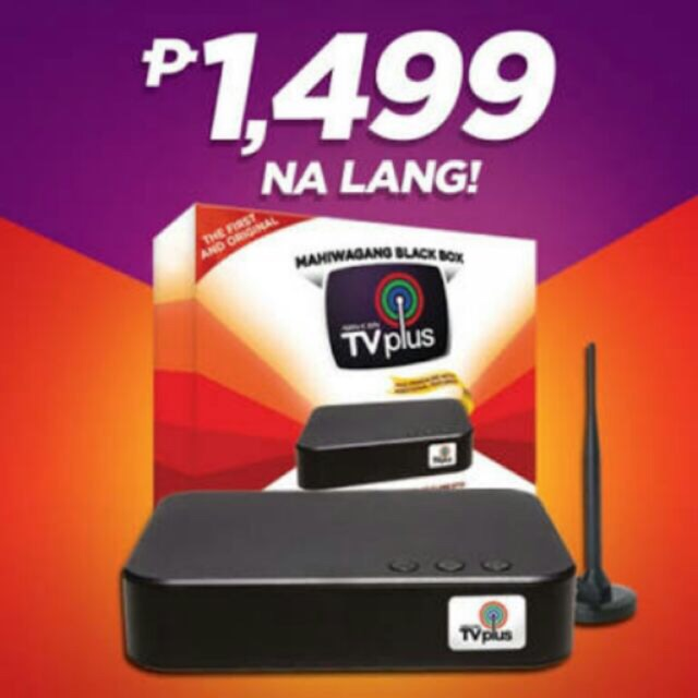 Brand New Abs Cbn Tv Plus Supplier Shopee Philippines