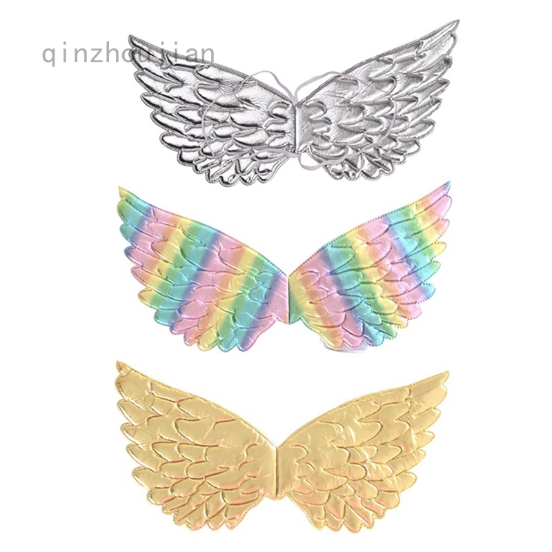 Qinzhoujian Unicorn Costume Gold Silver Unicorn Wings For Kids Girl Princess Fairy Wings Shopee Philippines