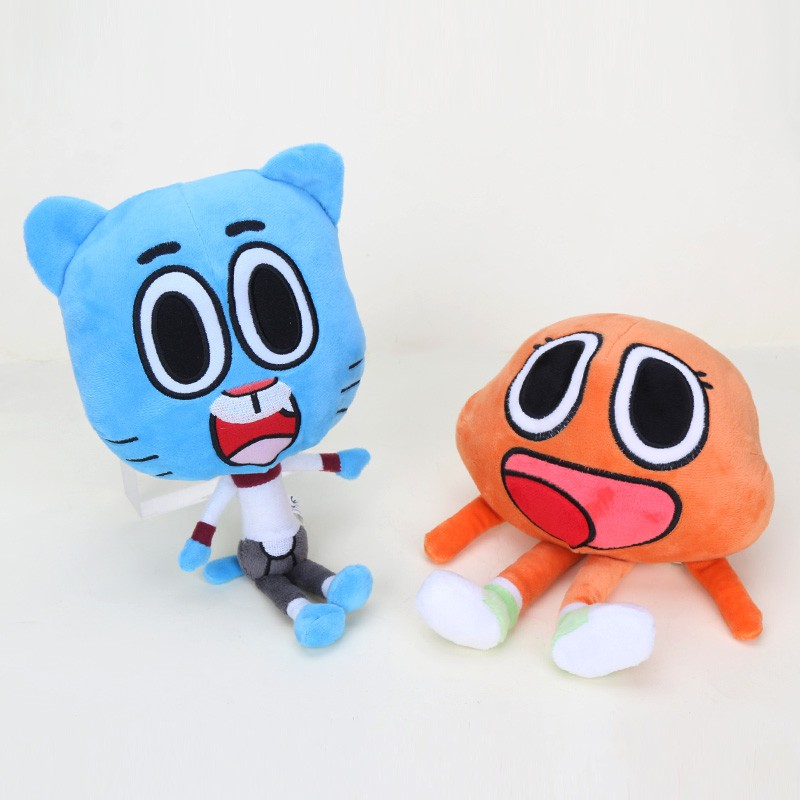 The Amazing World Of GUMBALL Plush Toy Anais Pink Character 11 30cm Quality Sup